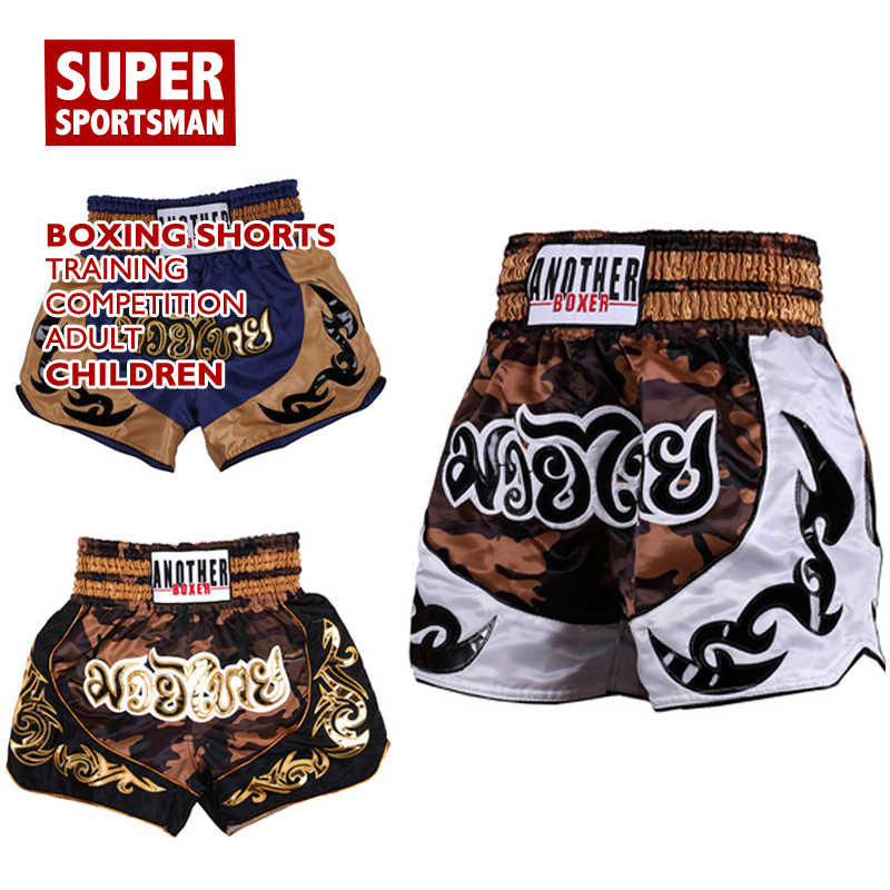 MMA Shorts Grappling Kick Boxing Mens Adult Muay Thai Fighting Work Out Exercise