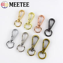 10/50pcs Meetee 13mm Metal Buckles Lobster Clasps Swivel Trigger Collar Clips Snap Hooks for Bags DIY Leather Sewing Accessories