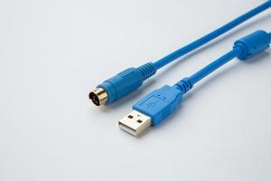 Image 3 - USB FBS 232P0 9F odpowiedni Fatek FBS FB1Z B1 Series PLC pozłacany kabel do programowania interfejsu USB wersja do adaptera RS232