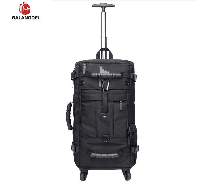 Мужской рюкзак на колесиках для путешествий, рюкзак на колесиках, рюкзак на колесиках для деловых поездок, сумки на колесиках