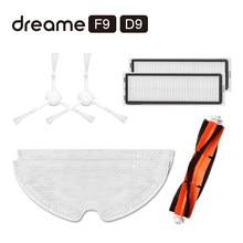 Original Dreame F9 D9 Robot repuestos de aspiradora paquete Kits de lado de filtro HEPA Filtro de cepillo principal RP ropa seco mojado limpiando