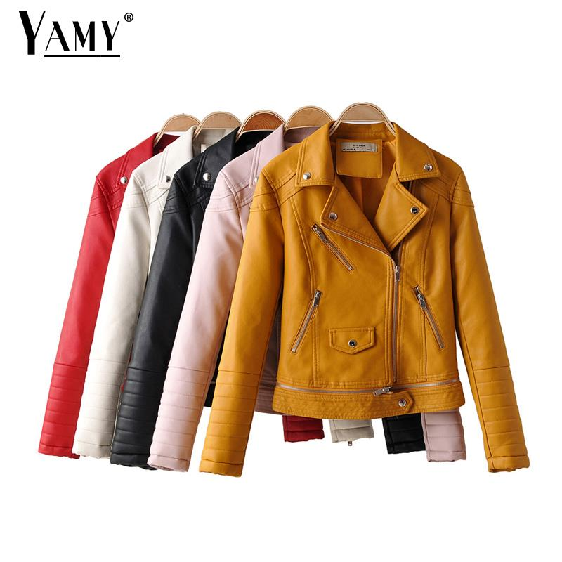 Fall coat   leather   jacket women zipper faux   suede   jacket long sleeve vintage coat turn down collar biker jacket detachable