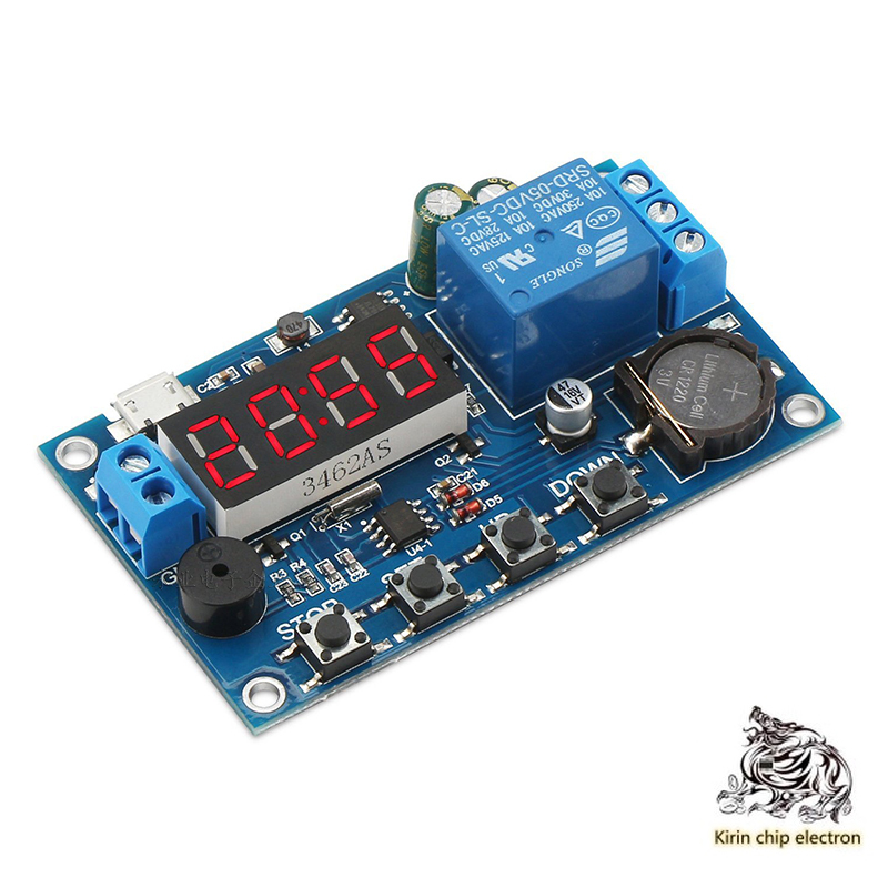 1PCS/LOT Real-time Relay Timing And Clock Synchronization/time Control / 24H Delay Timing 5 Time Periods