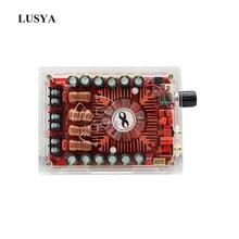 Lusya-AMPLIFICADOR DE POTENCIA TDA7498, tarjeta de amplificador estéreo Digital de 2X160W, BTL220W, Mono Power, con carcasa de acrílico