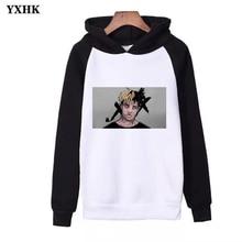 Hot Sale Xxxtentacion Hoodies Suitable for Rappers Hooded Sweatshirt Women Mens Clothes Harajuku Casual Hoodie Kpop Streetwear