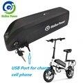 Батарея для электровелосипеда Hailong E батареи для велосипеда 48V 13AH 18650 литий-ионная батарея для мотора велосипеда Bafang 1000W BBS02 BBSHD