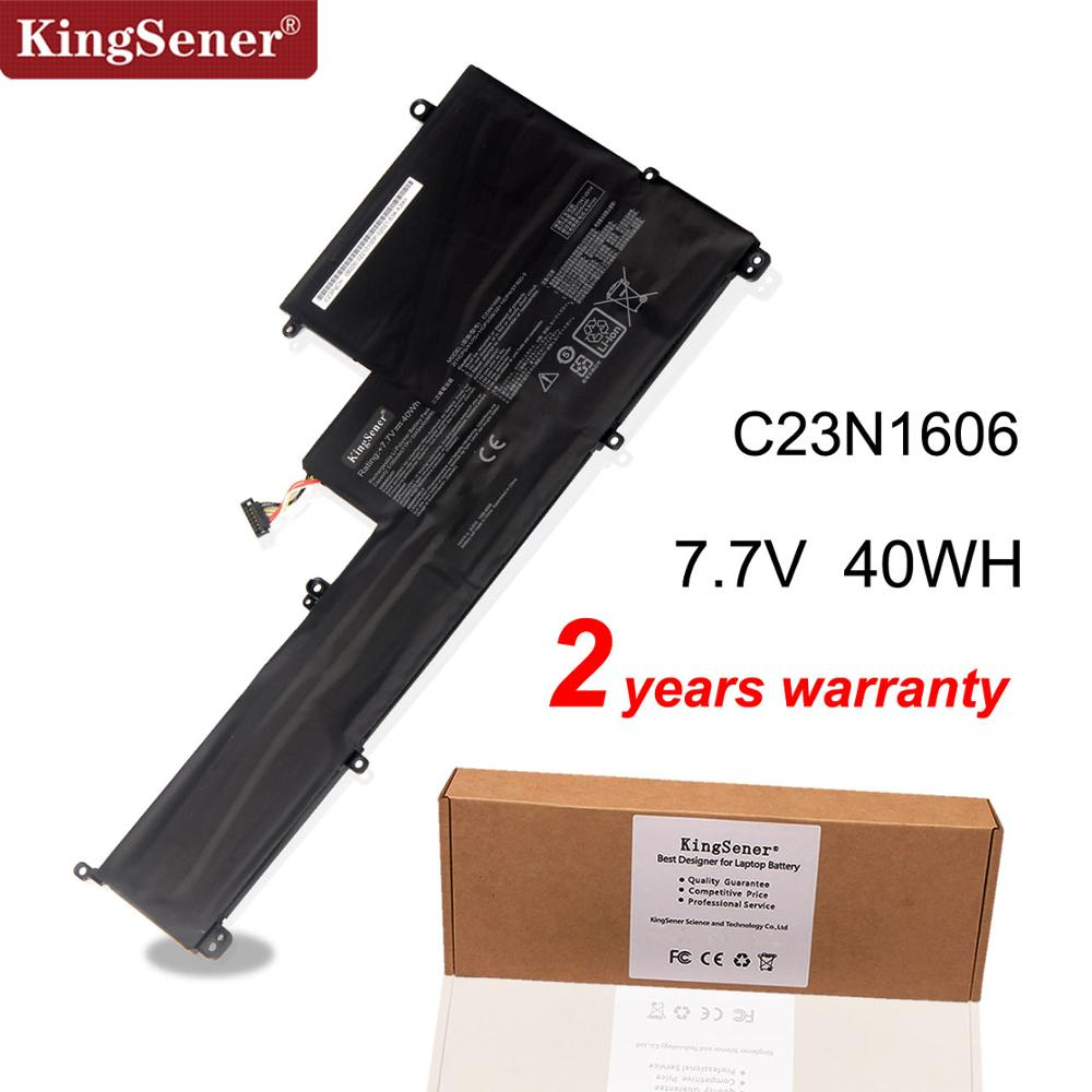 Kingsener C23N1606 Laptop Battery For ASUS Zenbook 3 UX390 UX390UA UX390UAK UX390UA-1A UX390UA1A C23PQCH 7.7V 40Wh