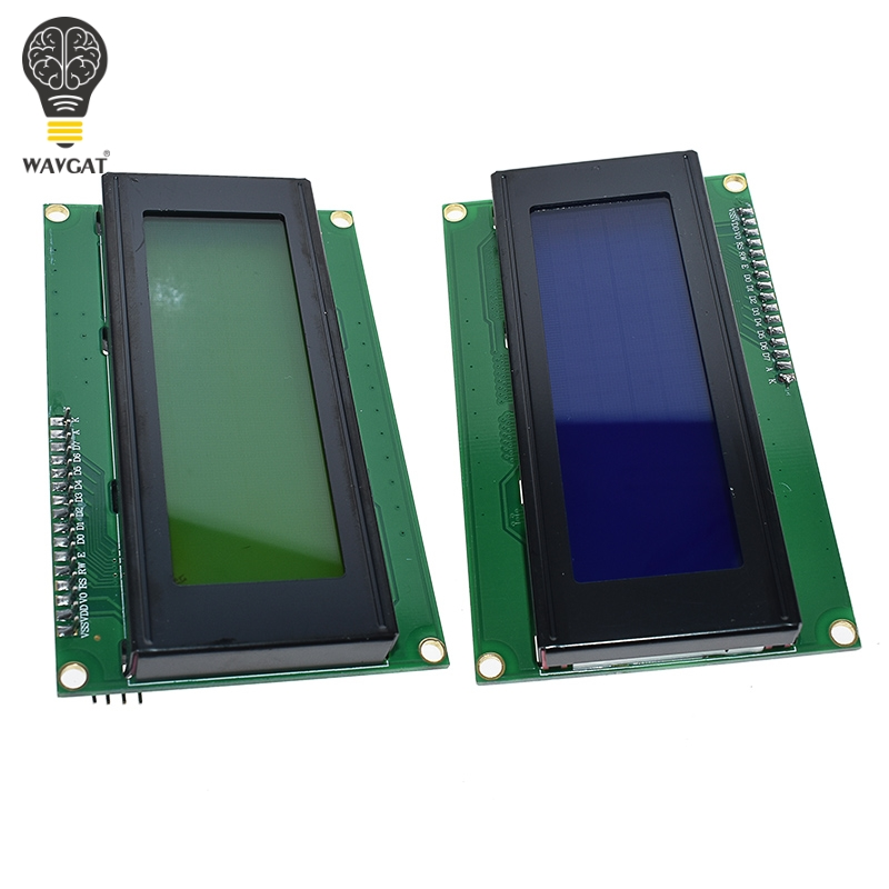 IIC/igc/TWI 2004 серийный синий зеленый ЖК-модуль с подсветкой для Arduino UNO R3 MEGA2560 20X4 LCD2004