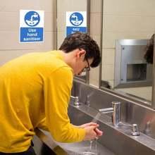 10 шт/лот наклейки для ручной стирки водонепроницаемые ПВХ знаки