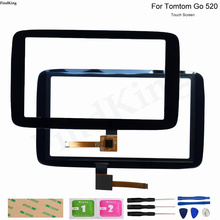 GPS Touch Screen Panel Glass For Tomtom GO 520 GO520 GPS Repair Replacement Part Touch Screen Digitizer Sensor With Tools