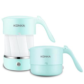 KONKA Electric kettle Foldable Water Kettle Auto Power-Off Protection 0.5L Kettle Teapot For Travel Home electric kettle hotel room special electric kettle automatically cut off the kettle page 7