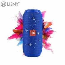 Altavoz Bluetooth impermeable portátil recargable para exterior altavoces inalámbricos barra de sonido Subwoofer altavoz TF MP3 micrófono incorporado