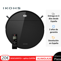Robot vacuum cleaner Smart Cleaner, vacuum, sweep, scrub and pass the mop NETBOT S12 IKOHS 1200Pa Wireless Remote Control Smart