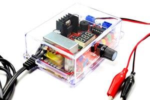 Image 3 - DIY ชุด US Plug 110V DIY LM317 ชุดกรณี