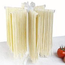 Suporte de cozinha espaguete manual pendurado fácil limpo dobrável pasta secagem rack rotação acessórios macarronete titular casa ferramentas