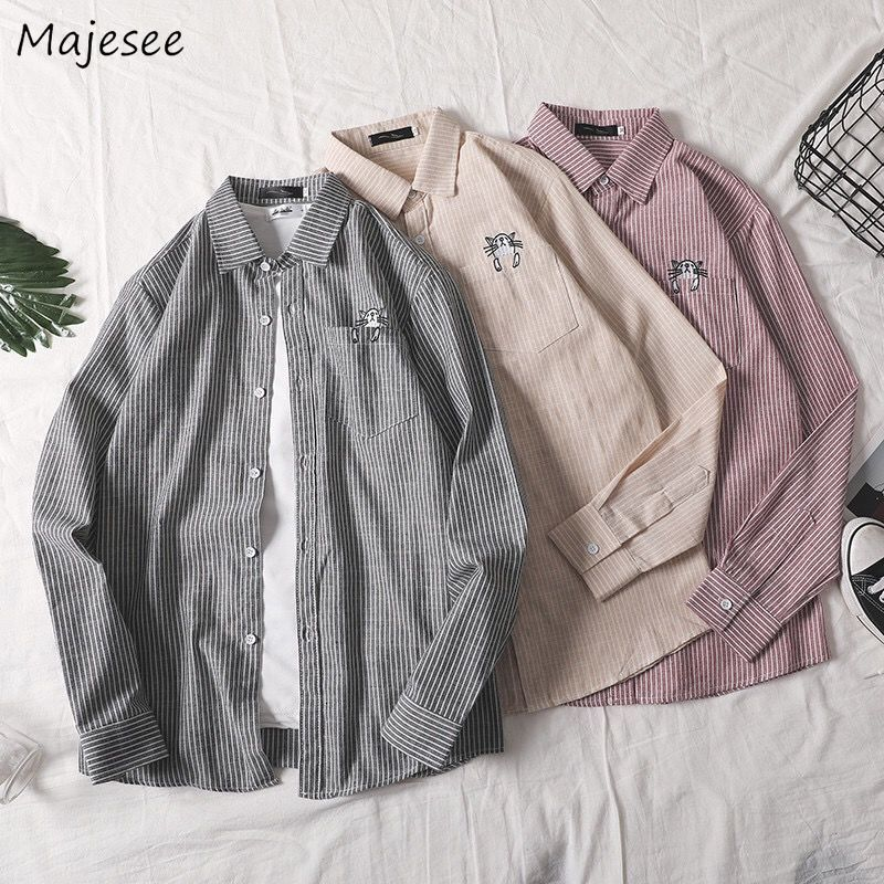 Shirts Men Plaid Classic Simple Loose 3XL Plus Size Daily Casual Mens Shirt All-match Fashion Harajuku Korean Style Soft Ulzzang