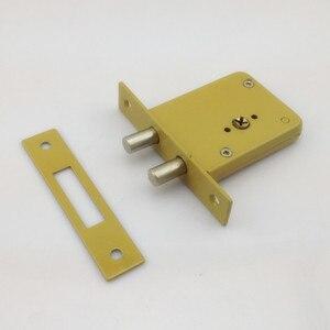 Image 4 - DeadBolt cerraduras invisibles, prevenir bloqueo recoger doble barra Invisible, mortaja, tubewell, seguridad, cerraduras de Mortice