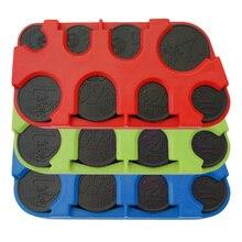 Пластиковая коробка для хранения монет мини евро монета диспенсер для монет коллекция кошелек коробка для денег контейнер Органайзер
