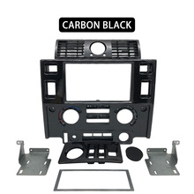 Dashboard Defender Land-Rover Interior Ce for Center-Console Glossy Black Matt Carbon-Look