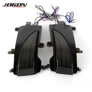 Image 3 - Led Năng Động LED Tín Hiệu Đậu Xe Vũng Nước Mặt Gương Tuần Tự Blinker Đèn Dành Cho Xe Nissan Tuần Tra Y62 Thiết Giáp Nhiệm Vụ QX56 QX80