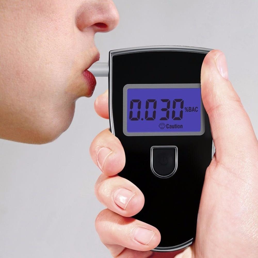 Digital Breathalyzer Breath Alcohol Car Gas Leak Detector Air Quality Monitor elitech Oxygen Measuring Instrument Meter