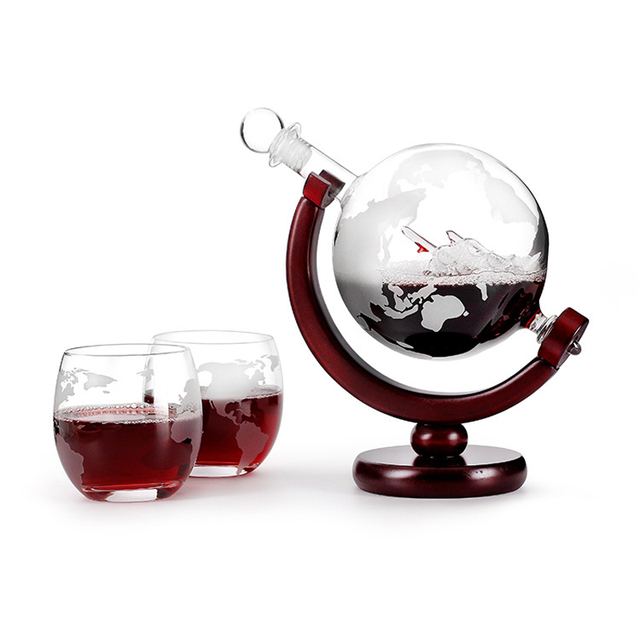 Novelty Whiskey Decanter With Stand 5