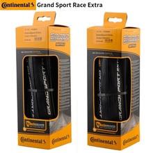Continental grand sport extra 700 23c 25c estrada bicicleta dobrável pneus de bicicleta