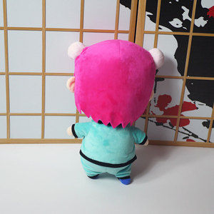 Image 2 - 1 шт. Новый мультяшный Saiki Kusuo No Nan Teruhashi Kokomi аниме плюшевая кукла игрушка для косплея мягкая игрушка Детские подарки Мягкая Подушка