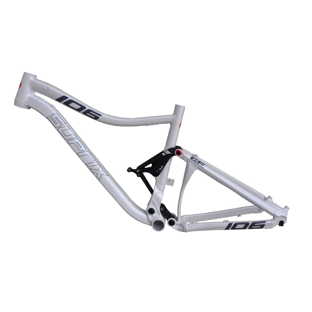 Original New 26/27.5er Aluminum Alloy MTB Full Rear Suspention Mountain Shock Absorb 15.5/17 Inch Downhill Bicycle Frame