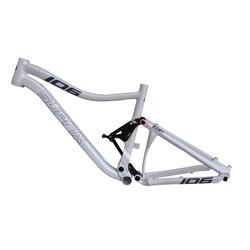 Stok yeni 26/27.5er alüminyum alaşım MTB çerçeve tam arka süspansiyon dağ şok emici 15.5/17 inç yokuş aşağı bisiklet şasisi