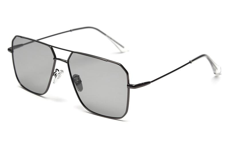 Kinglly Sunglasses for Men Women Aviator Polarized Metal Mirror UV 400 Lens
