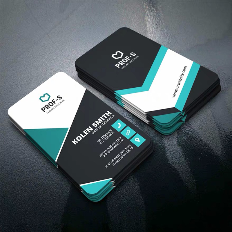 PVC Business Card Custom Logo Printing Plastic ID Cards Print Waterproof Glossy Matte Pearl Frosted Double-sided 85*54mm 200pcs
