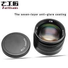 7 artesãos 50mm f1.1 para leica m-montagem câmeras grande abertura paraxial lente de foco fixo M-M m240 m3 m6 m7 m8 m9 m10
