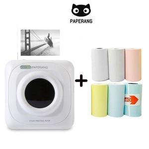 Image 1 - Mini imprimante thermique Bluetooth Portable, appareil Photo de poche, pour iOS Android, Paperang