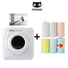 Przenośna drukarka termiczna Bluetooth Mini kieszonkowa drukarka fotograficzna do telefonu komórkowego iOS Android ręczna maszyna do zdjęć Paperang