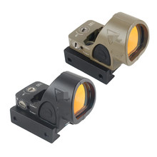 Mira réflex Mini RMR SRO de punto rojo, colimador Glock, compatible con riel de 20mm y soporte de Glock para Airsoft/rifle de caza