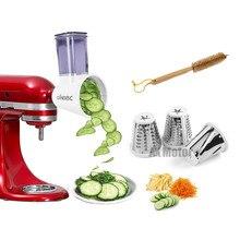 Mixers Kitchenaid-Stand Slicer/shredder-Attachment Cheese-Grater Vegetable-Slicer