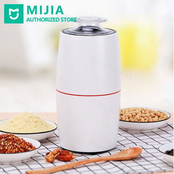 Xiaomi mini Electric Coffee Grinder Food Crusher Herb Pepper Grain Mill Spice Pulverizer Powder Machine Household Kitchen Tools цена 2017