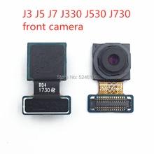 1pcs Front Facing small Camera Module Flex Cable For Samsung Galaxy J3 J5 J7 J330 J530 J730 type Selfie front Camera 1pcs rear camera front small camera module facing iris id flex cable for samsung galaxy note 8 n950f n950n n950u s8 plus g955u