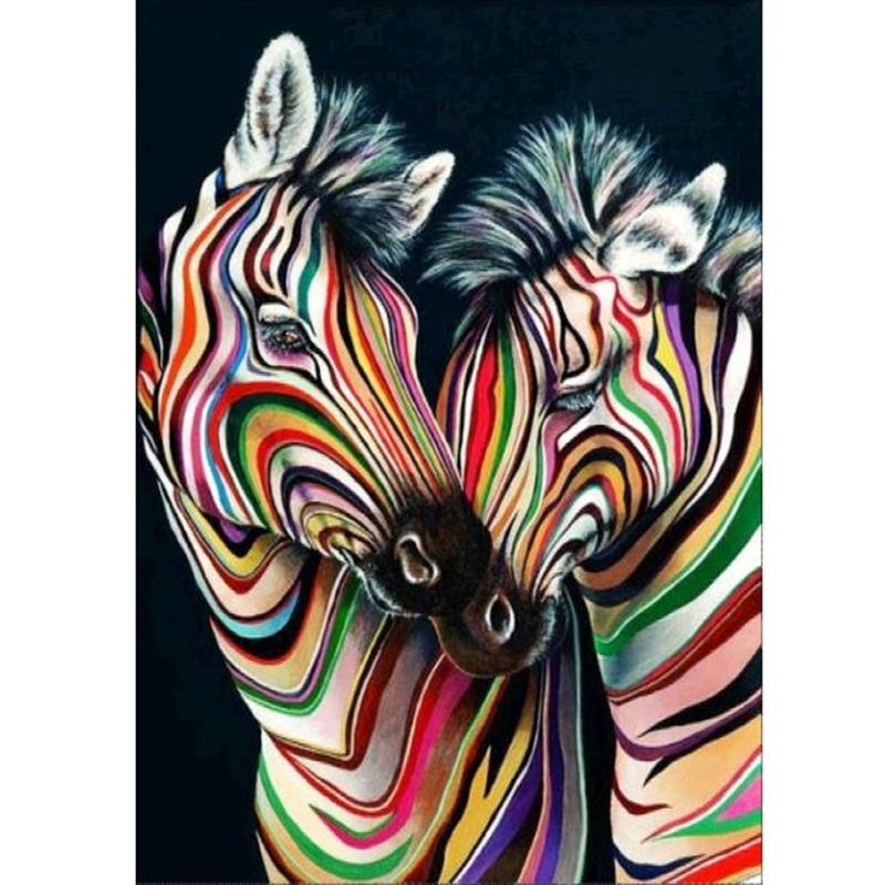 Diy horse 5d diamond painting full round drill animal embroidery