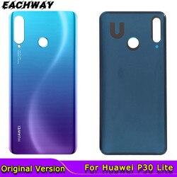 Oryginał dla Huawei P30 Pro pokrywa baterii P30 tylne drzwi P30Lite obudowa tylna obudowa Replac telefon dla Huawei P30 Lite pokrywa baterii