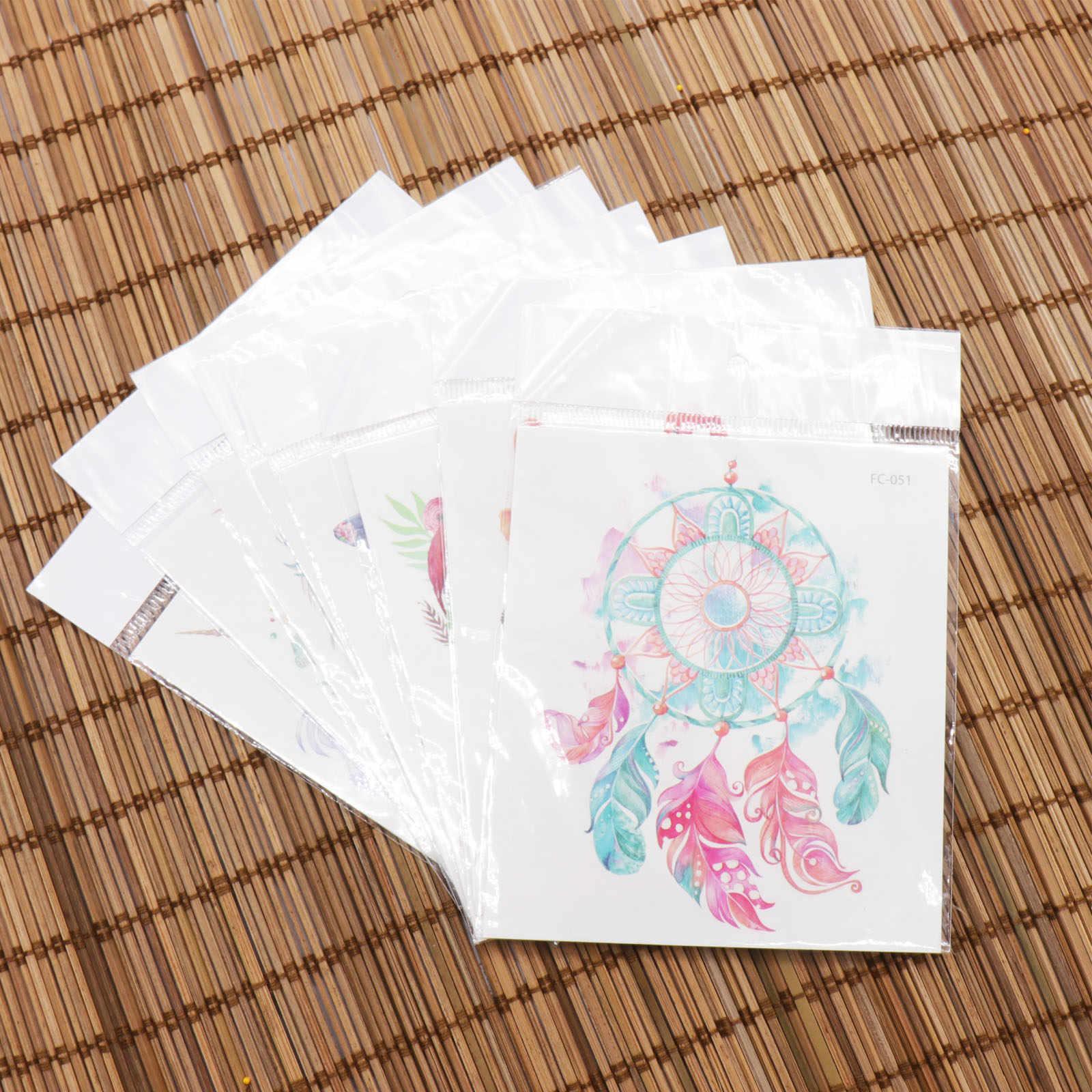 1pcs Del Fumetto Unicorn Flamingo Impermeabile Autoadesivo Del Tatuaggio Temporaneo Corpo Autoadesivo Arte Di Compleanno di Addio Al Nubilato della Festa Nuziale Del Rifornimento