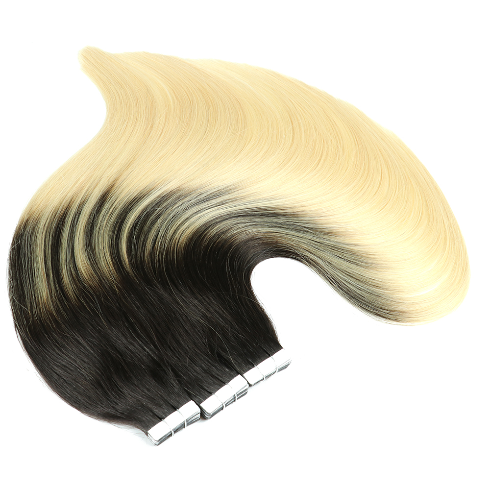 Sindra Remy Russian Tape In Human Hair Extensions Invisible Adhesive PU Skin Weft Extension Real Hair Extensions