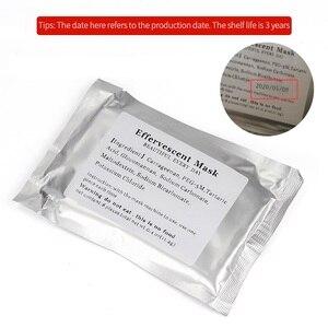 Image 5 - 32Pcs DIY Facialผักผลไม้Makerหน้ากากอัตโนมัติเครื่องใช้Effervescentคอลลาเจนเม็ดAnti Aging Wrinkle Hydrating
