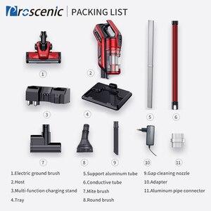 Image 5 - Proscenic I9 22000Pa el akülü elektrikli süpürge siklon taşınabilir elektrikli süpürge için ev dikey kablosuz halı temizleyici