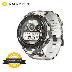 Mới 2020 CES Amazfit T-Rex T Rex Đồng Hồ Thông Minh Smartwatch Chắc Chắn Thân Đồng Hồ Thông Minh Định Vị GPS/GLONASS 20 Ngày Pin dành Cho Xiaomi IOS Android
