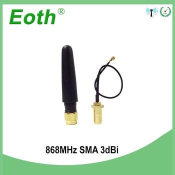 GSM 868MHz 915MHz antenna 3bdi SMA Male Connector GSM antena 868 MHz 915 MHz antenne antennas +10cm RP-SMA/u.FL Pigtail Cable gsm antenna 868mhz 915mhz glued strip 868m patch antenna sma male connector aerial 3 meters cable 868 mhz 915 mhz antena antenne