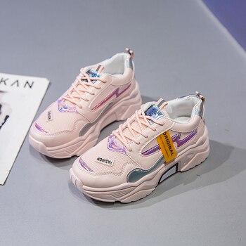 Leishen 2020 Women Shoes New Sneakers Fashion Casual Camfortable Women Vulcanize Shoes Flat Platform Footwear Femme Krasovki цена 2017