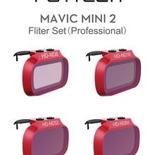 Набор фильтров PGYTECH Mavic Mini 2 1 ND 8 16 32 64 для DJI Mavic Mini UV защитный чехол для объектива Mavic Mini 2 аксессуары