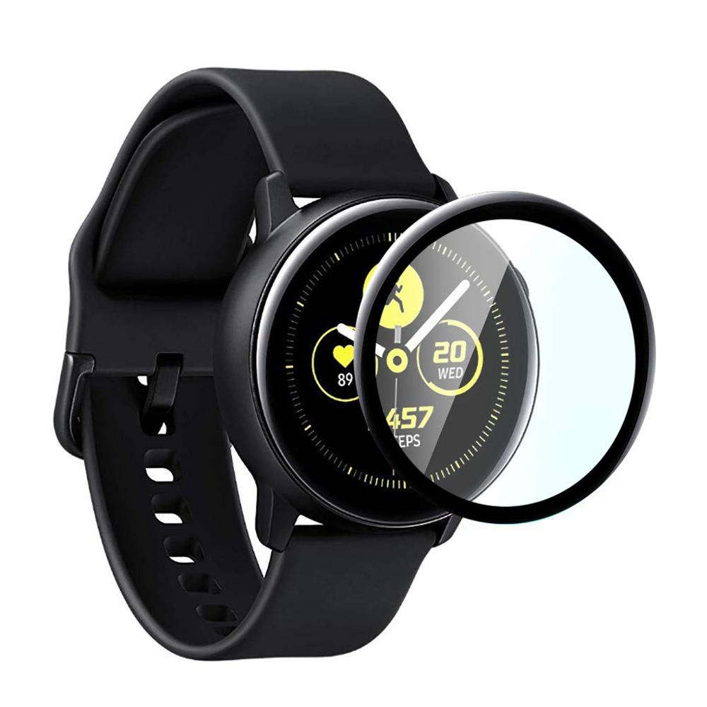 Tempered Glass For Samsung Galaxy Watch Active 2 44mm 40mm/46mm/42mm Gear S3 Frontier/S2/Sport 3D HD Full Screen Protector Film